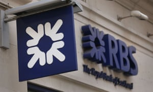 RBS sign outside branch