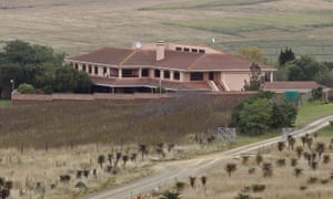 The Qunu home where Nelson Mandela is buried.