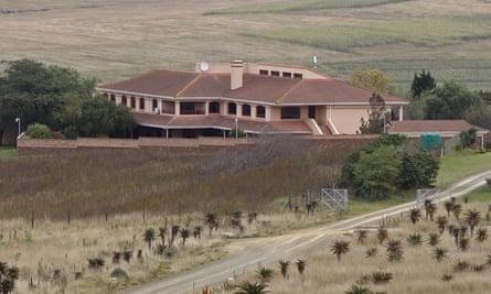 The Qunu home where Nelson Mandela is buried.