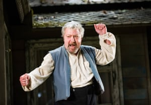 As Dolzikhov in Longing by William Boyd at Hampstead theatre, 2013.