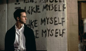 Edward Norton in David Fincher's 1999 film of Fight Club.