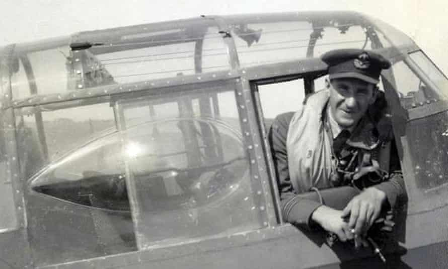 Les Munro in Germany during the Second World War,.