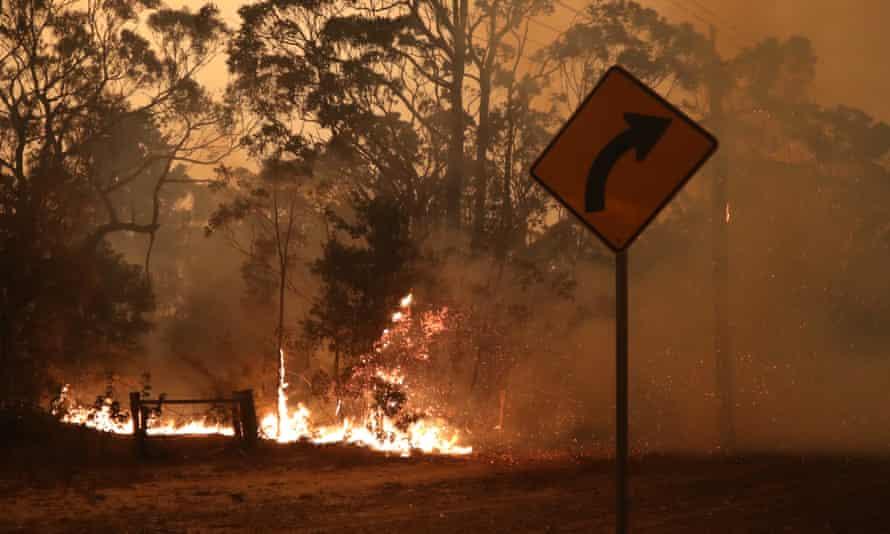 Currowan Fire South Coast NSW