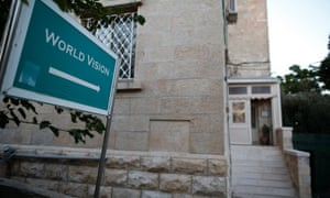 The office of World Vision in East Jerusalem