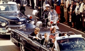 John F Kennedy, Jaqueline Kennedy and John Connally moments before Kennedy was assassinated in Dallas, Texas on 22 November 1963.