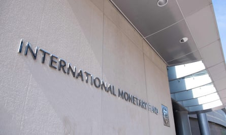 The headquarters of the International Monetary Fund