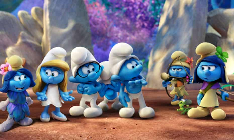 Now, let's even up the gender imbalance, shall we … Smurfs: The Lost Village.