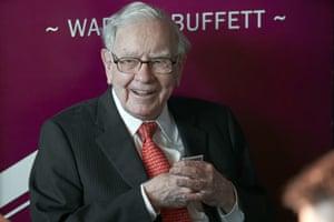 Warren Buffett, Chairman and CEO of Berkshire Hathaway, last year.