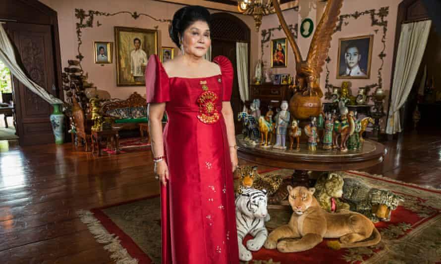 Unrepentant … Imelda Marcos on her 85th birthday.