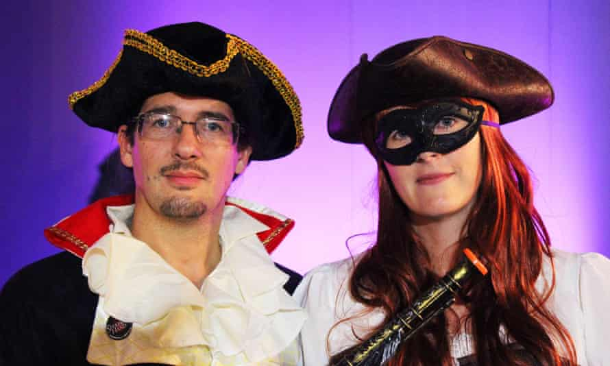Husband and wife Helen Carmichael and Jake Birkett of Grey Alien Games.
