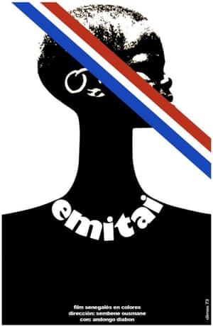 Poster for Emitaï, 1971