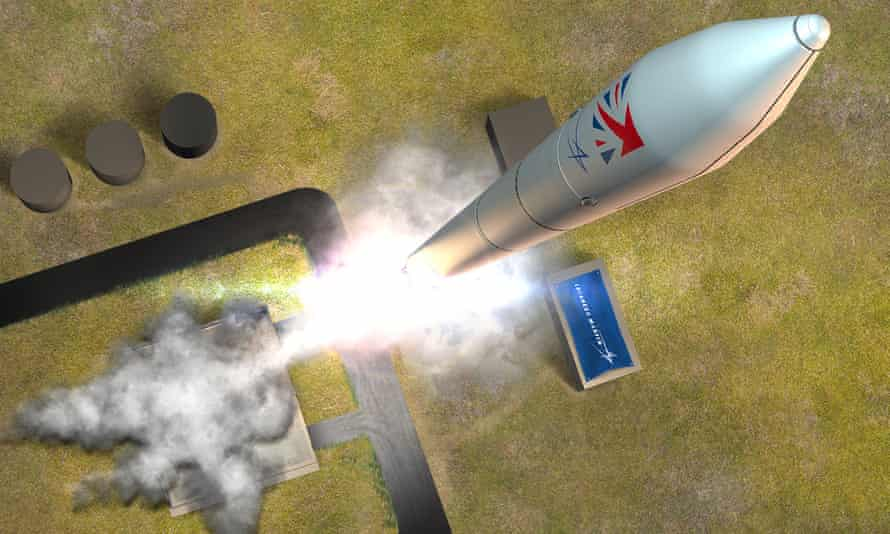 The future Lockheed Martin UK Pathfinder Launch from Shetland Space Centre.