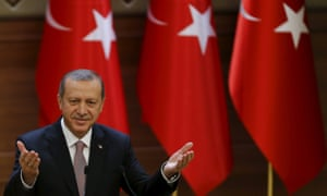 Turkish president Recep Tayyip Erdoğan says he gave the order to fire himself.