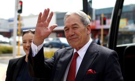 New Zealand First leader, Winston Peters