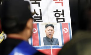North Korea has launched an estimated 1m propaganda leaflets by balloon into South Korea amid increased animosities between the rivals following the North's recent nuclear test.