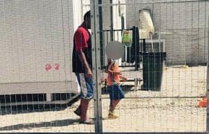 Detention centre on Nauru