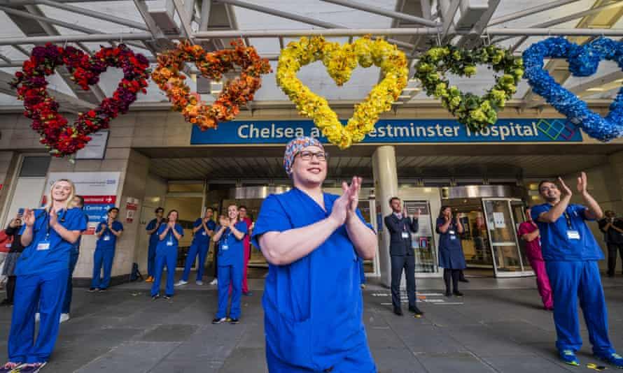 Clap for our Carers, Chelsea and Westminster hospital