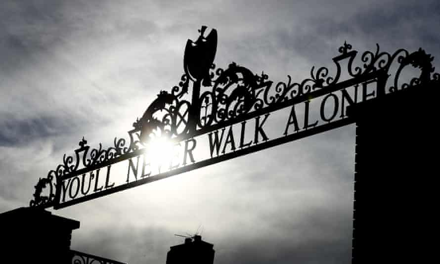 The Shankly Gates at Liverpool's Anfield ground