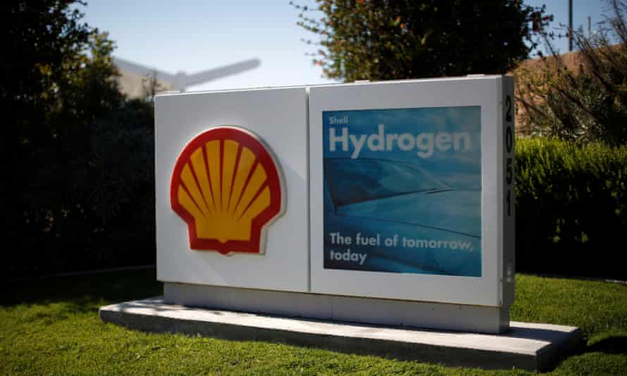 A Shell hydrogen station for hydrogen fuel cell cars in Torrance, California.
