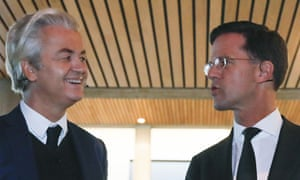 Geert Wilders Mark Rutte