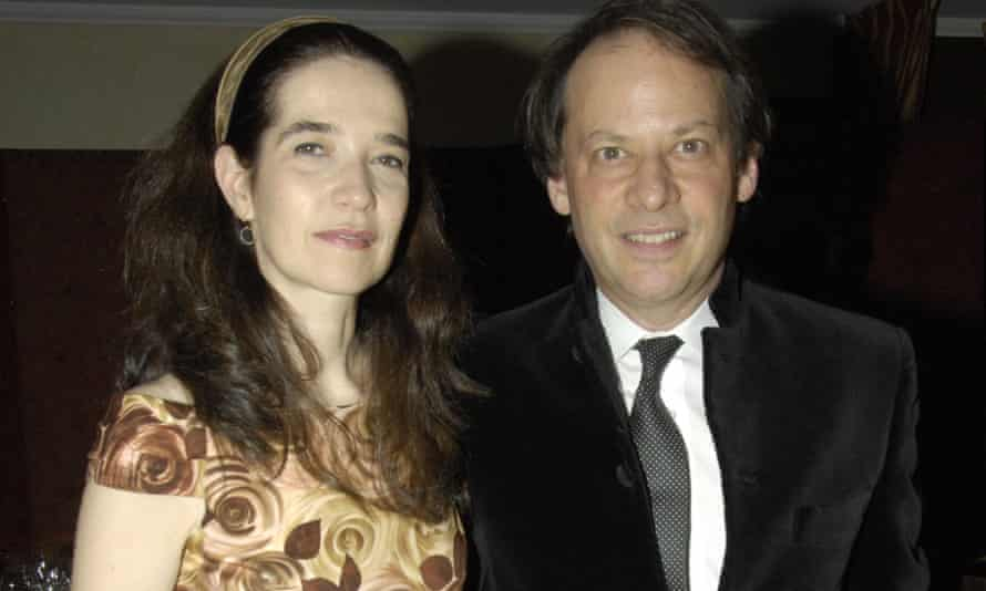 Gopnik with his wife Martha Parker, New York, 2008.