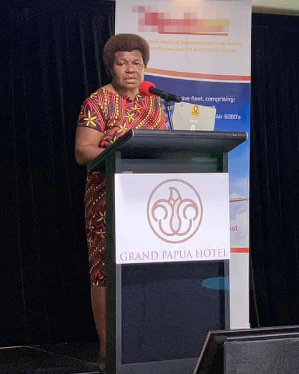 Agnes Pawiong is the manager for planning, policy and economics at Papua New Guinea's department of health.