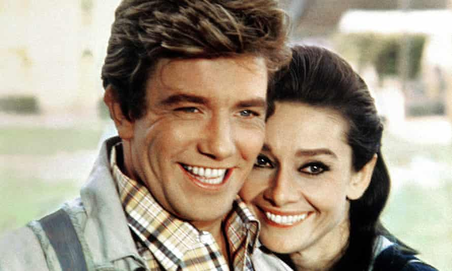 Albert Finney and Audrey Hepburn in Two for the Road.