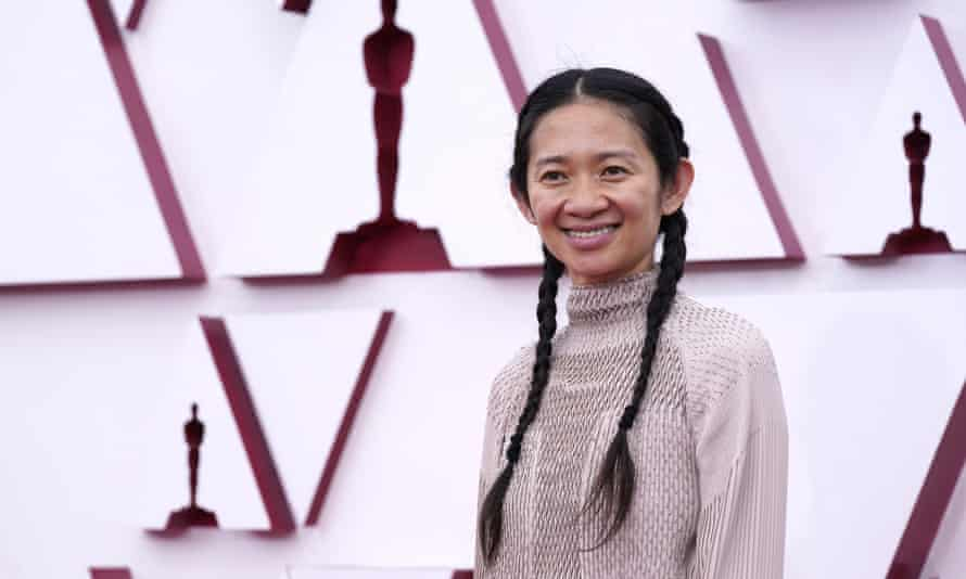 Chloé Zhao won the Academy Award for best director for her film Nomadland.