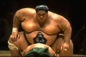 Konishiki Yasokichi aka 'The Dump Truck'.