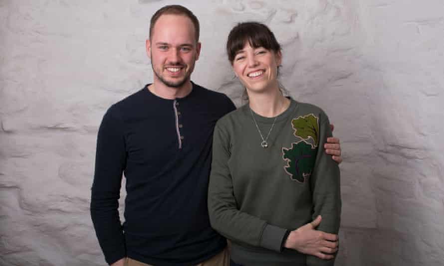 Ruth Chamberlain and Siim Maivel