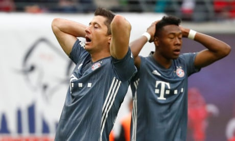Bayern Munich held by RB Leipzig to take Bundesliga title race to final day