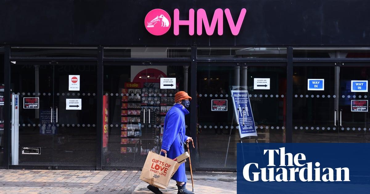 HMV owner: UK must fix business rates or risk more shop closures