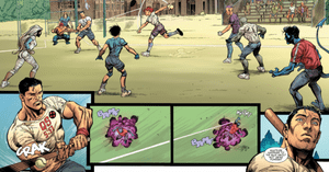 Panels from X-Men Gold #1