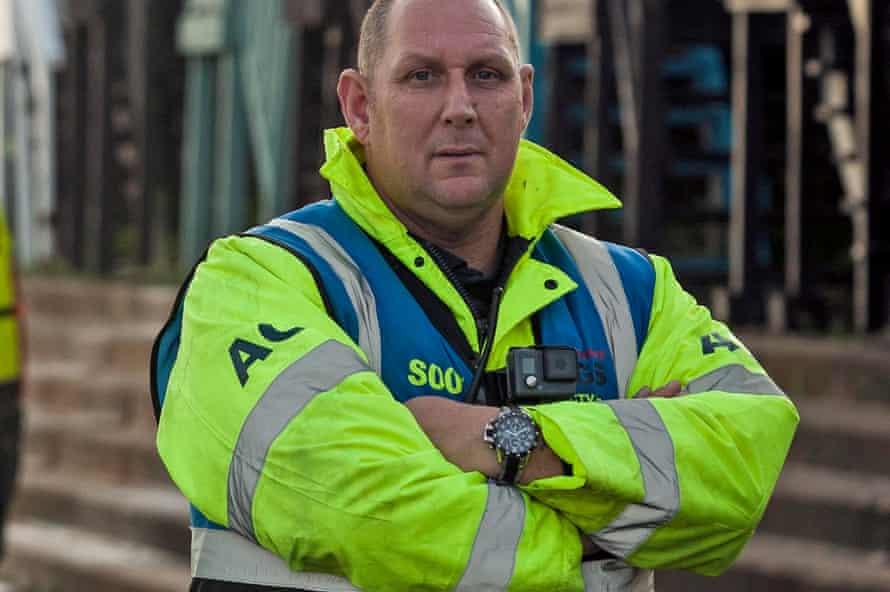 AGS Security boss Stephen Beardsley