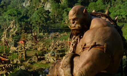 Champing at the bit … The orcs arrive in Azeroth.