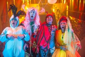 Aladdin at Perth theatre.