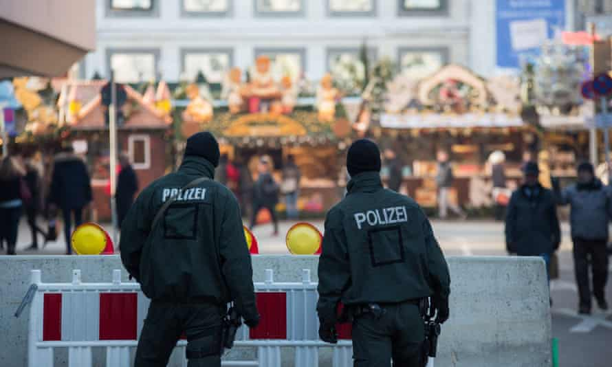Police in Stuttgart