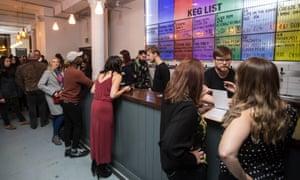 Busy bar area at Beatnikz Republic, Manchester