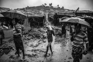 The crisis has coincided with the monsoon rains