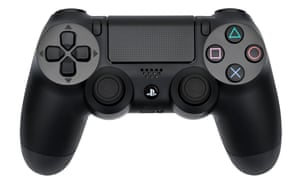 Crossed wires … the Dualshock.