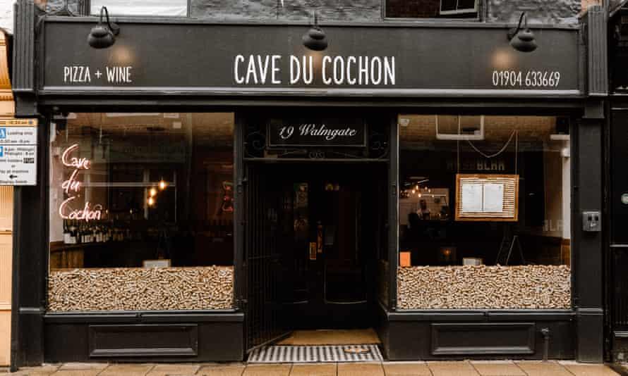 Cave du Cochon York CDC exterior front