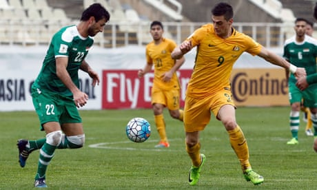 Australia denied by Iraq's Ahmed Yasin in fourth consecutive draw