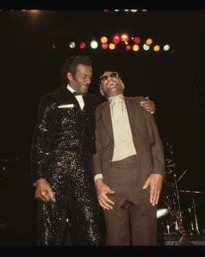 Chuck Berry with Ray Charles.