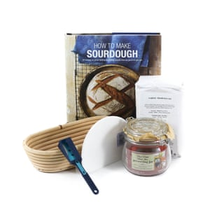 This kept your anxious hands busy and added 5lb to your waistline during lockdown, Sourdough Bread Making Kit, £45, souschef.co.uk