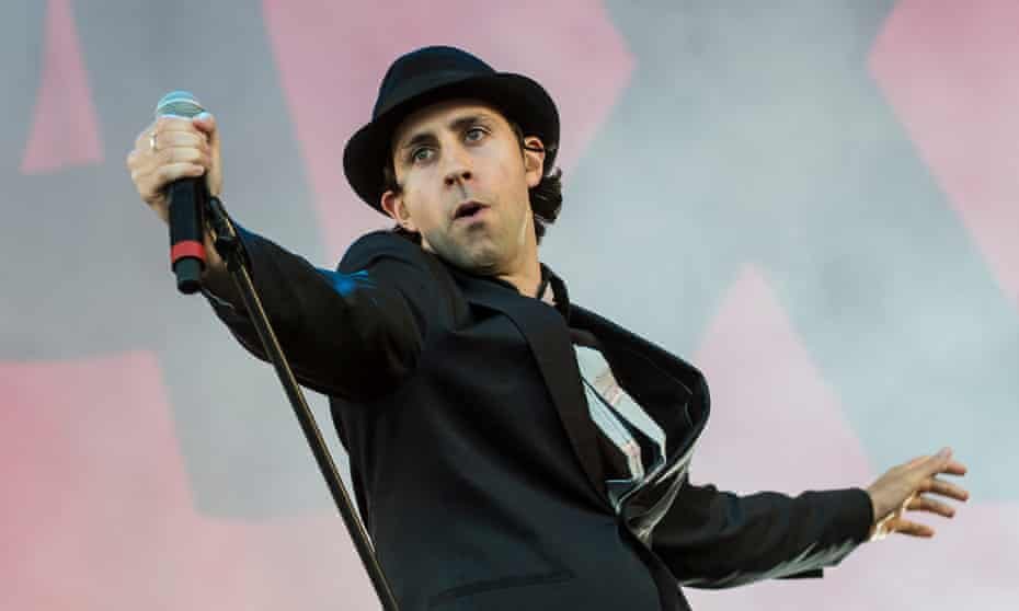 Paul Smith of Maxïmo Park … 'It's like someone's dying on your doorstep and you say that you're not going to open the door.'