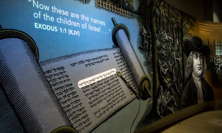 A display at the Museum of the Bible
