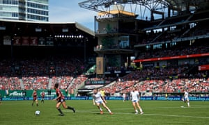 Portland Thorns' home opener ended in a comfortable win over the Chicago Red Stars