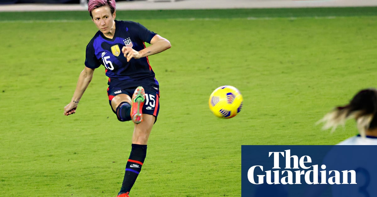 Rapinoe brace opens floodgates as USA rout Argentina to win SheBelieves Cup