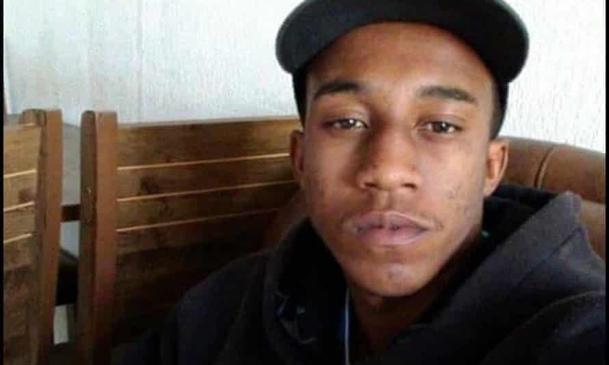 Carlos Eduardo Nascimento, 20, who has not been seen since he was led away by police in the Brazilian city of Jundiaí in December. Pictures provided by family