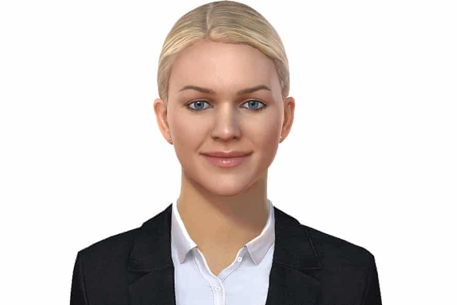 Amelia, the artificially intelligent customer service agent.